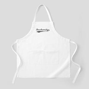 Vintage Breckenridge BBQ Apron