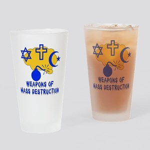 Religion Mass Destruction Pint Glass