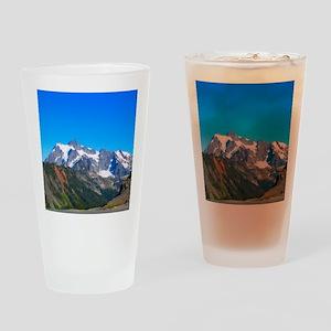 Blue Sky Mt Shuksan Pint Glass