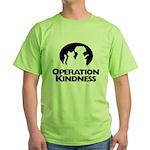Operation Kindness Logo Green T-Shirt