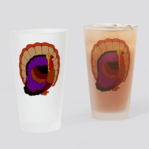 Thanksgiving Turkey Drinking Glass