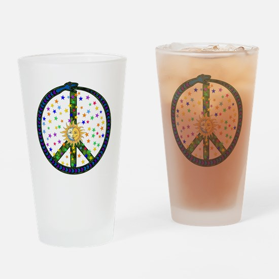 Solstice Peace Pint Glass