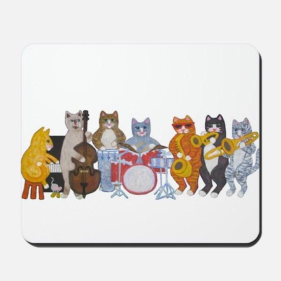 Salsa Cats Mousepad