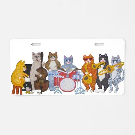 Salsa Cats Aluminum License Plate