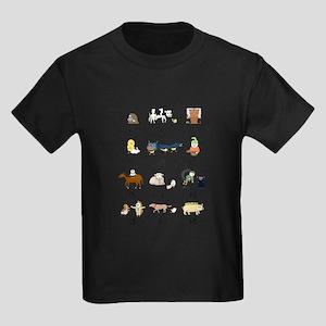 Chinese Zodiac Kids Dark T-Shirt