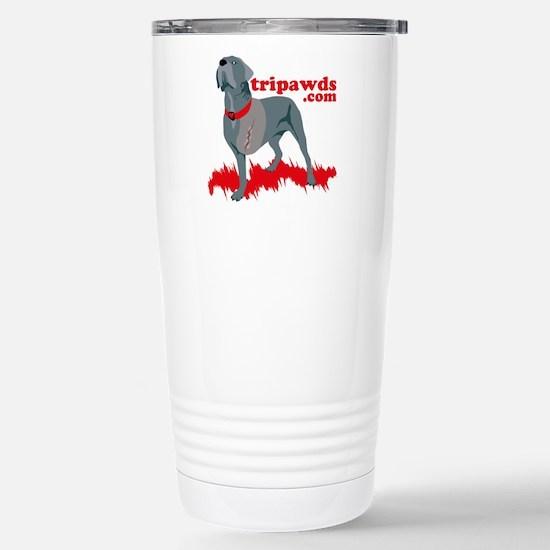 Tripawd Warrior Bellona Stainless Steel Travel Mug