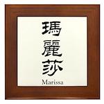 Marissa Framed Tile