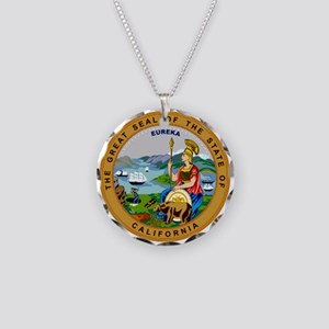 California State Seal Necklace