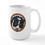 Mac's Border Collie Large Mug