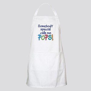 SOMEBODY SPECIAL CALLS ME POPS! Apron
