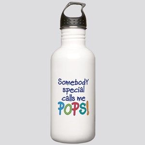 SOMEBODY SPECIAL CALLS ME POPS! Stainless Water Bo