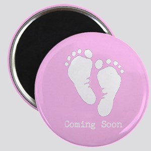 New Baby Coming Soon Magnet
