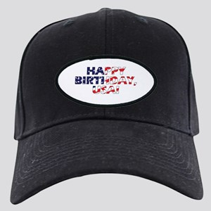 Happy Birthday USA Black Cap