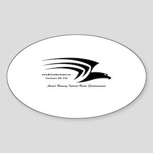 BillandKatRadio Main Logo Sticker