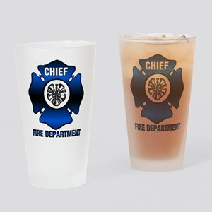 Fire Chief Drinking Glass