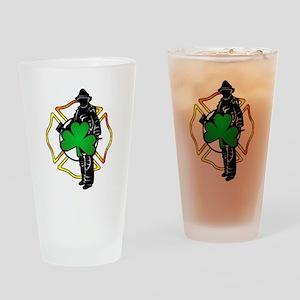 Irish Fire Symbols Pint Glass