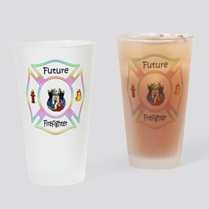 Future Firefighter Pastel Pint Glass