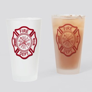 Firefighter Baby Pint Glass