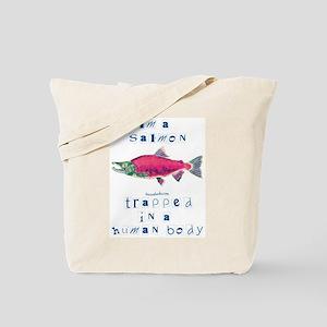 I'm a Salmon Tote Bag