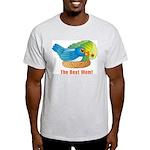 Best Mom Ash Grey T-Shirt