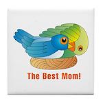Best Mom Tile Coaster