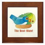 Best Mom Framed Tile