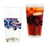 EMS Ambulance Drinking Glass