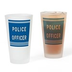 Police Officer Blues Pint Glass