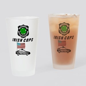 Irish Police Officers Pint Glass