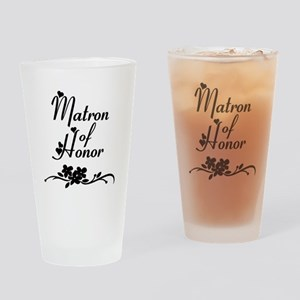Matron of Honor Drinking Glass