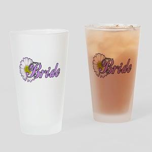 Daisy Bride Pint Glass