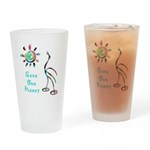 Save Our Planet Pint Glass