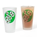 Blossoms Drinking Glass