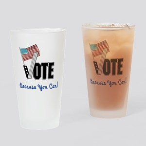 Vote Election Day Pint Glass