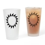 Sunny Flames Drinking Glass