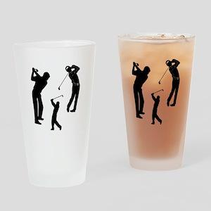 Golf Club Drinking Glass
