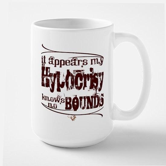 """""""Hypocrisy"""" Large Mug"""