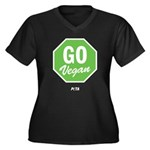 Go Vegan Plus Size T-Shirt