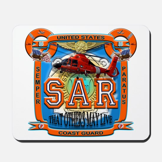 USCG Coast Guard SAR Mousepad