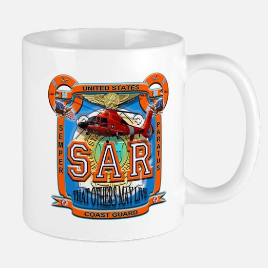 USCG Coast Guard SAR Mug
