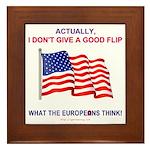 Pro-America Framed Tile
