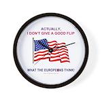 Pro-America Wall Clock