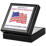 Pro-America Keepsake Box