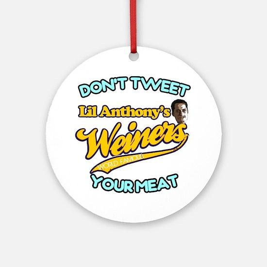 Weinergate 2011 Ornament (Round)