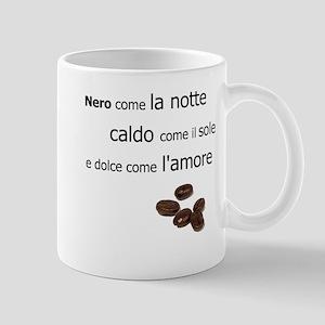 Coffee and Italian lovers coffee mug