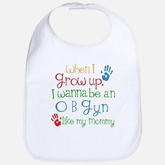 OBGyn Like Mommy Baby Bib