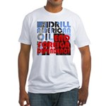 American Oil Fitted T-Shirt