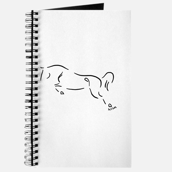 Unique Horse jumping Journal