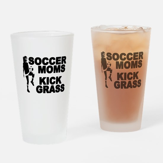 Soccer Moms Kick Grass Pint Glass