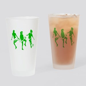 Green express Yourself Female Pint Glass